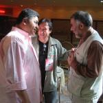 صحبت در مورد برگزاری مسابقات در ایران با آقای قدمی و مهندس ایمن