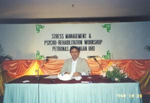 کارگاه مدیریت استرس در مالزی
